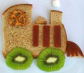 Вкусное  и полезное блюдо для малышей их хлеба