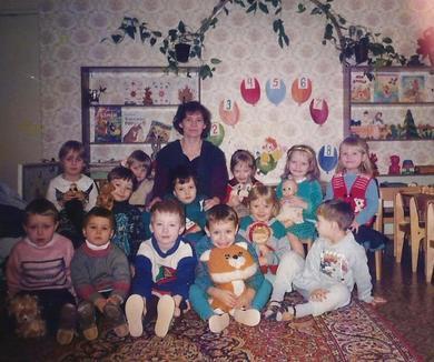 Детский сад и малыши, адаптация