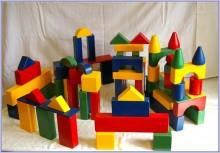 Постройка из игрушки конструктора