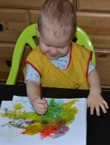 техника рисования для малышей