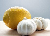 Лимон и чеснок при гриппе
