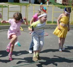 Подвижные и другие игры для детей от 5 лет