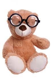 Слабовидящий медвежонок в очках